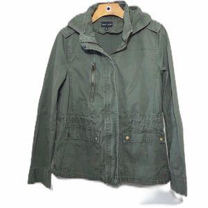Military Hoodie Jacket Utility Army Green Women's